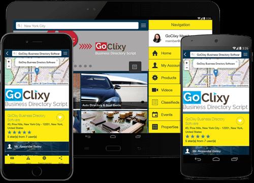 GoClixy Mobile Application